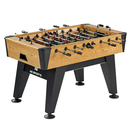 MD Sports 58 Inch Hamilton Collection Foosball Soccer Table ()