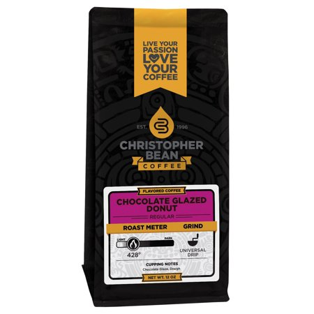 Chocolate Glaze Donut Flavored Ground Coffee, 12 Ounce (Dunkin Donuts Chocolate Glazed Donut Coffee Nutrition)