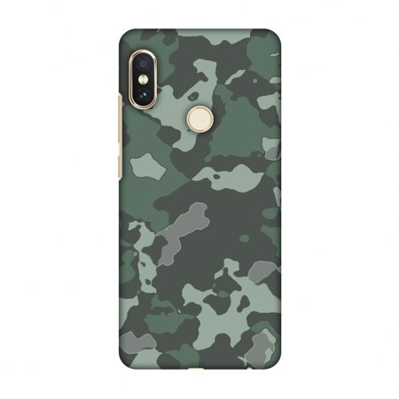 outlet store cea4e 1ba68 Xiaomi Redmi Note 5 Pro Case - Camou- Amazon green, Hard Plastic Back  Cover, Slim Profile Cute Printed Designer Snap on Case with Screen Cleaning  Kit