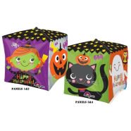Halloween Pumpkin Balloon Game (Amscan 15-inch/ 38cm Halloween Pumpkin Orbz Foil)