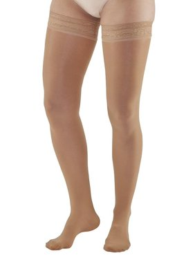 bb24ef1b54d Product Image Ames Walker AW Style 286 Signature Sheers 15-20mmHg Moderate  Compression Closed Toe Thigh Highs