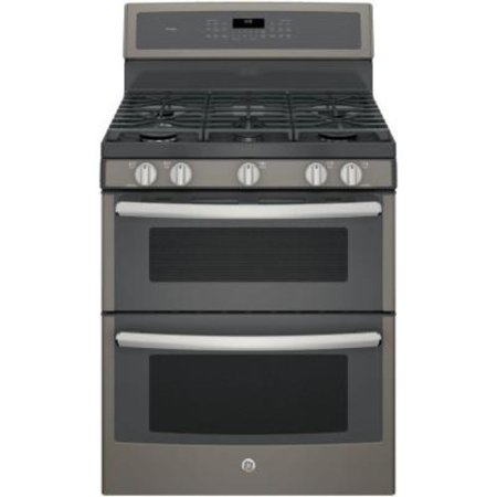 PGB960EEJES 30 Freestanding Double Oven Gas Range with 6.8 cu. ft. Total Capacity  5 Burners  Convection  Self-Clean  Grill/Griddle  and Star-K Certified  in