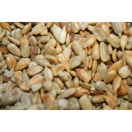 BAYSIDE CANDY SUNFLOWER SEEDS SHELLED ROASTED UNSALTED, 1LB ()