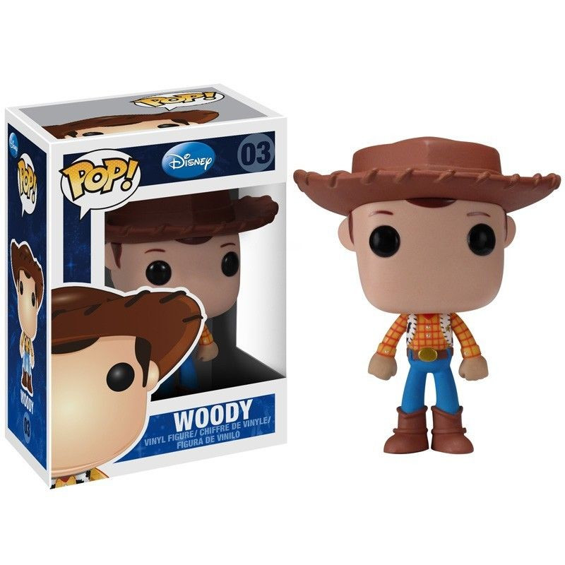 Toy Story Funko POP! Disney Woody Vinyl Figure by Funko