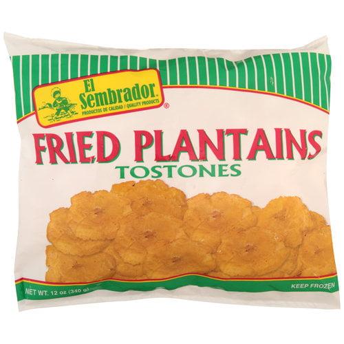 El Sembrador Fried Plantains, Bag 12 oz