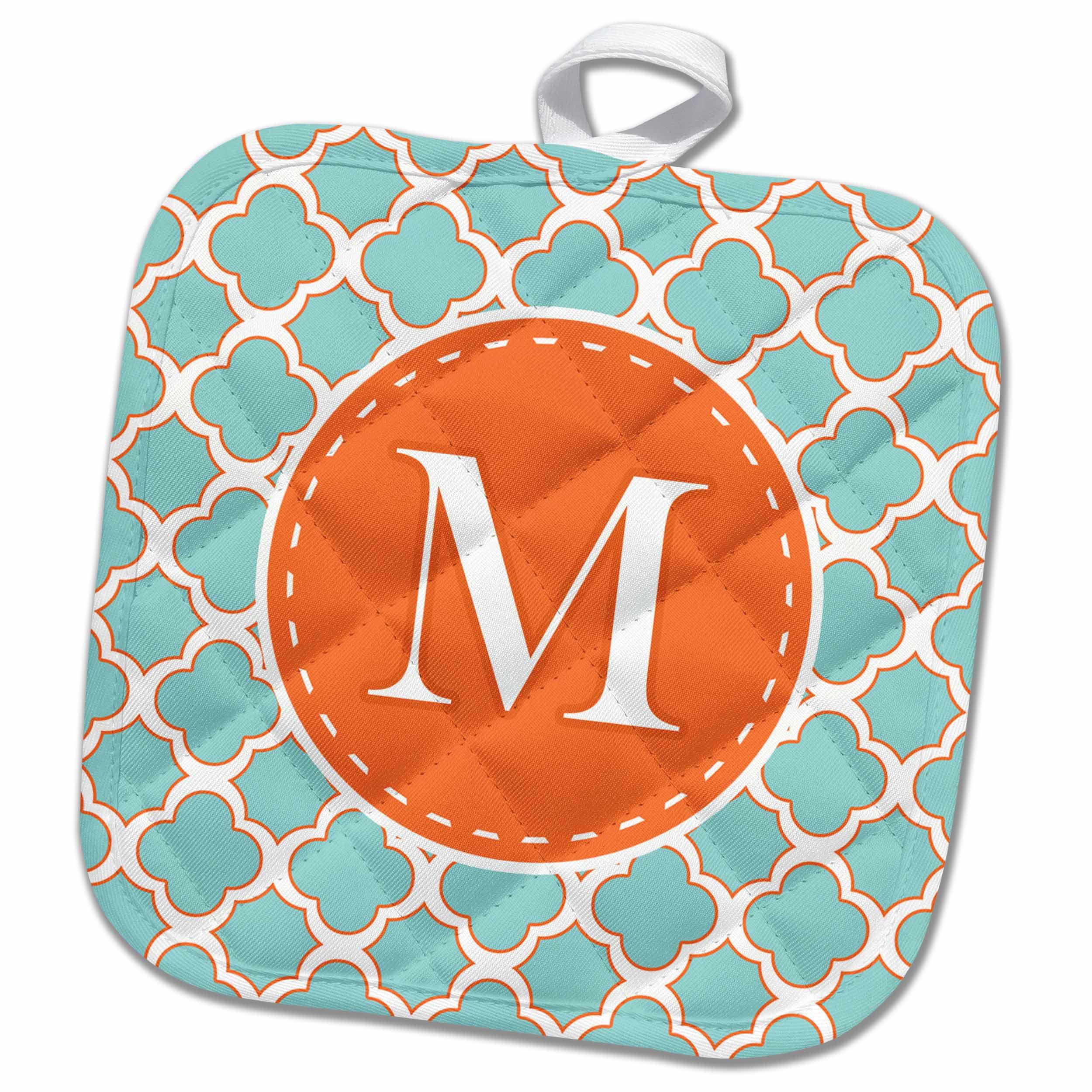 Orange letter m