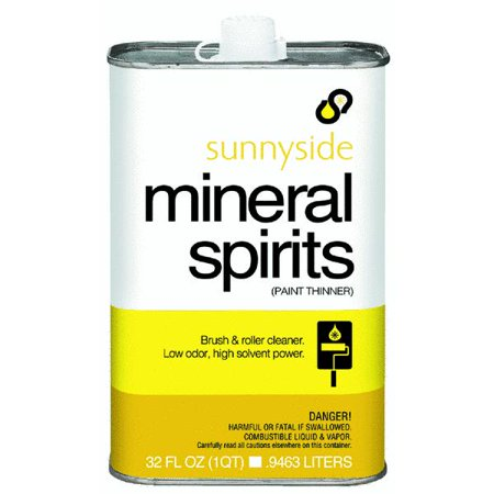 Sunnyside mineral spirits Oil based exterior paint brands