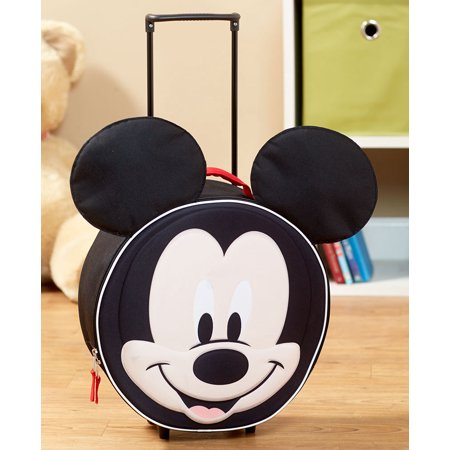 Licensed Kids' Molded Luggage - Mickey Mouse](Mickey Mouse Luggage For Adults)
