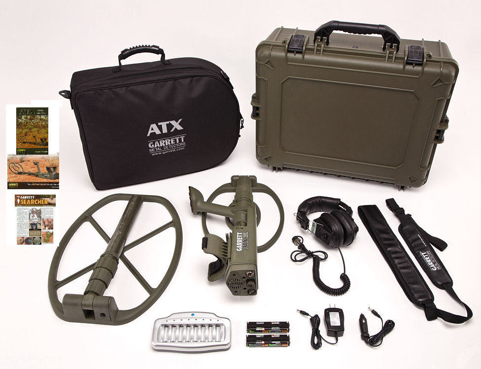 Garrett Metal Detectors 1140820 ATX Deepseeker Package by Garrett Metal Detectors