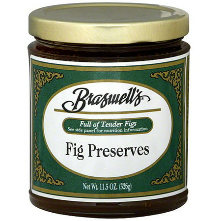 Braswell's Fig Preserves, 11.5 oz (Pack of 6)