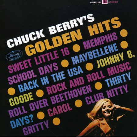 Classic Rock Gold Cd (Golden Rock Hits of Chuck Berry)