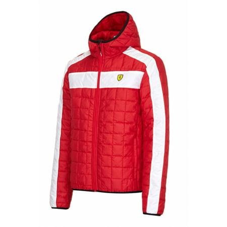 Ferrari Red Padded Jacket (Ferrari Jacket For Men)