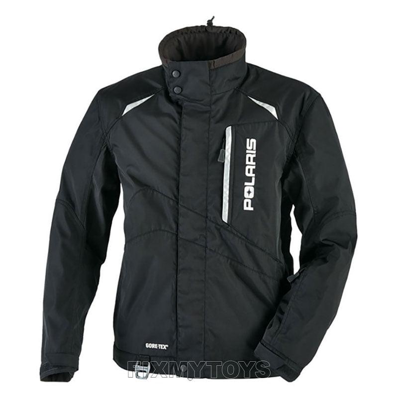 Polaris Snowmobile Black Non-insulated Pro Jacket w/ GORE...