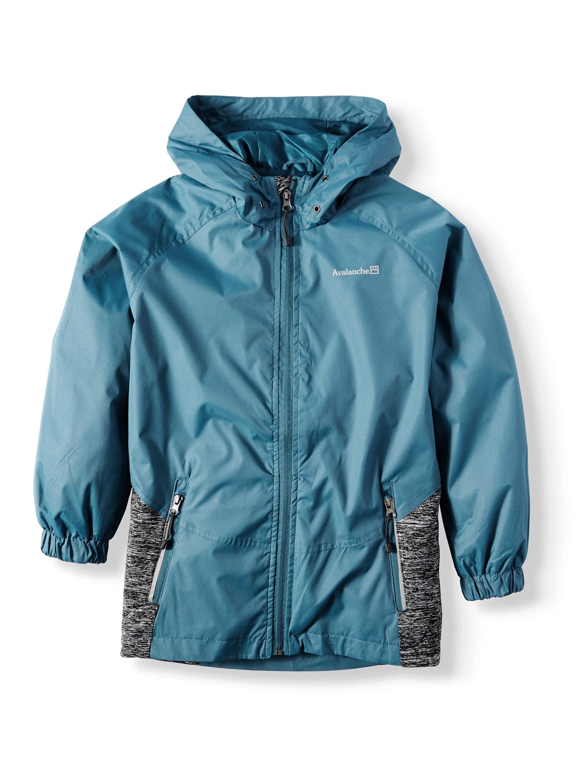 Hooded Zip Up Hybrid Jacket (Big Boys)
