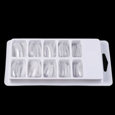 - Transparent Fake Nail Molds With Scale False Nail Model Nail Forms Acrylic Nail System Forms Full Cover Polygel UV Gel Nail Tips