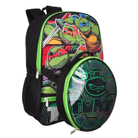 Teenage Mutant Ninja Turtles Backpack with Insulated Lunchbox - Backpack With Lunchbox