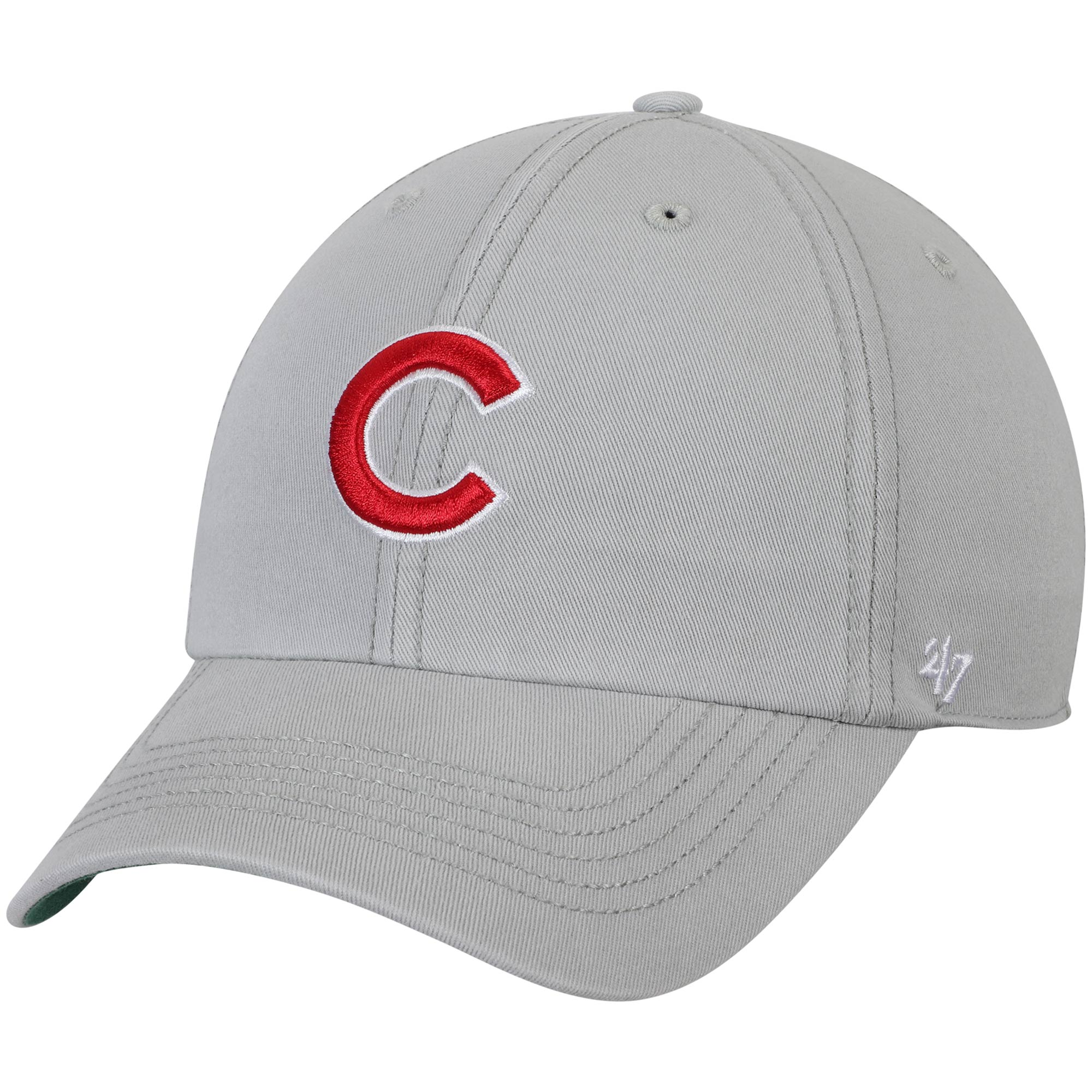 Chicago Cubs '47 Primary Logo Franchise Fitted Hat - Gray