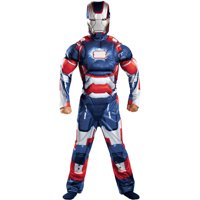 Iron Man 3 Iron Patriot Classic Child Muscle Halloween Costume