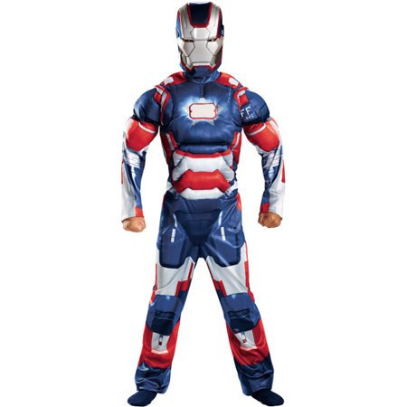 Iron Man 3 Iron Patriot Classic Child Muscle Halloween Costume](Kids Iron Man Costumes)