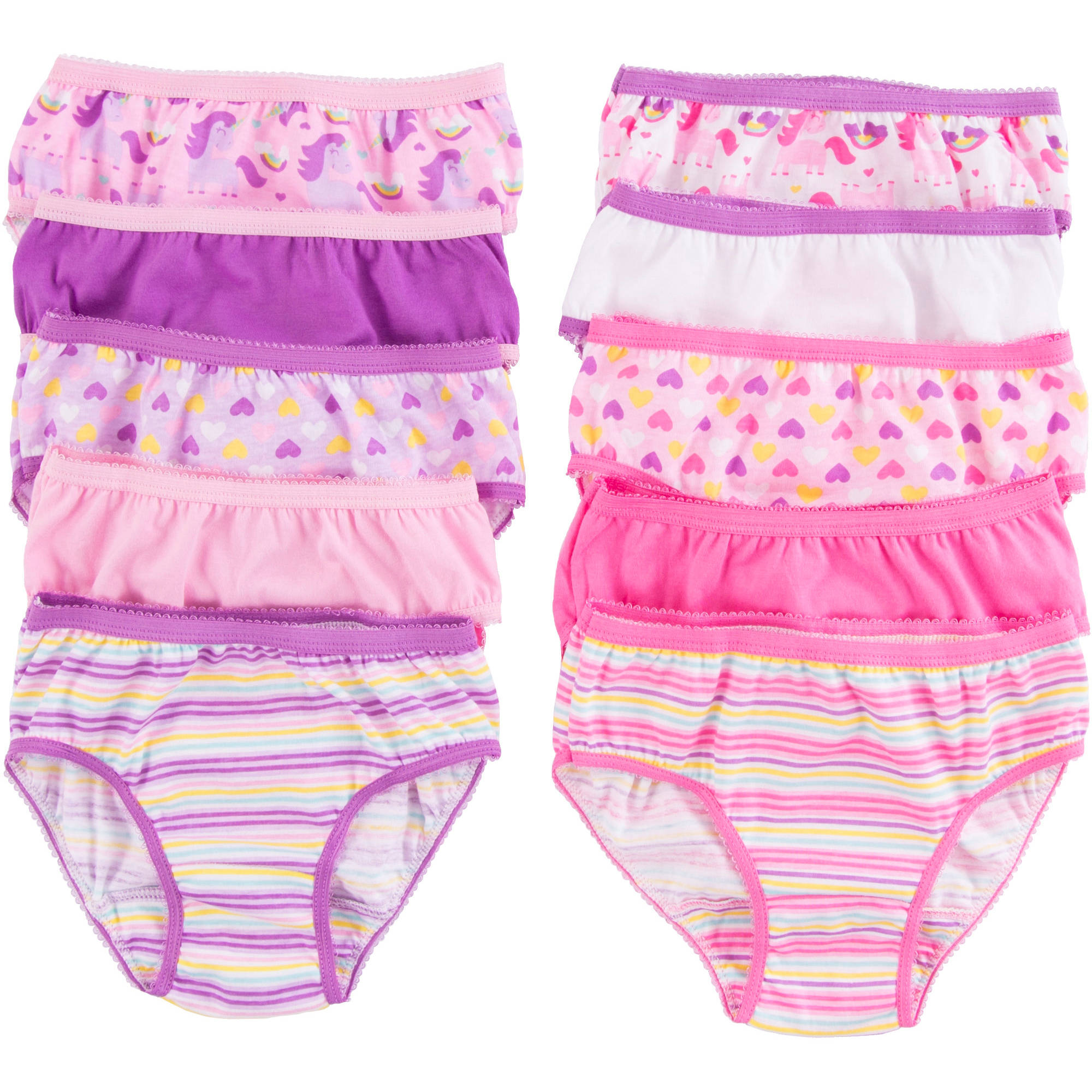 Garanimals Toddler Girls Panty 10 Pack