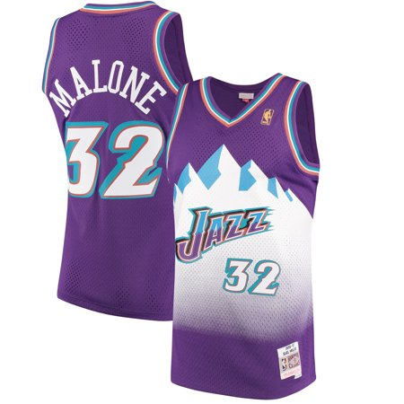 5e66653fe21 Karl Malone Utah Jazz Mitchell   Ness 1996-97 Hardwood Classics ...