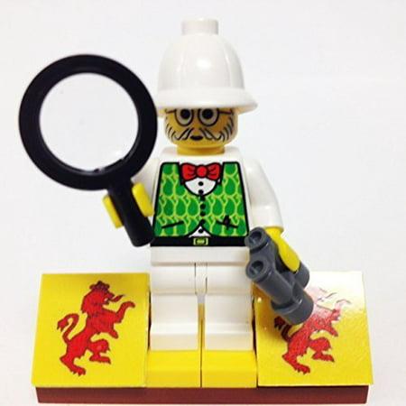 Minifigurepacks  Lego Adventurers   Orient Expedition Bundle   1  Dr  Kilroy    1  Figure Display Base    2  Figure Accessories