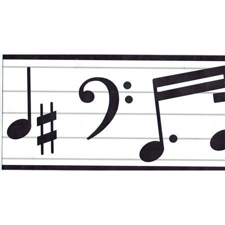 878938 Music Musical Notes Wallpaper Border