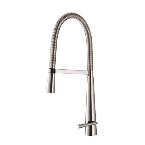 Ruvati Cascada Single Handle Pull-Down Kitchen Faucet
