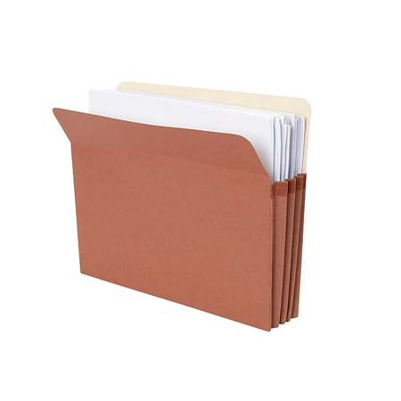 Globe-Weis File Pocket Folder, 3.5