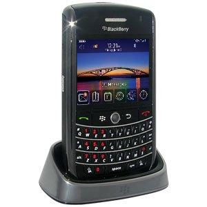 Blackberry Charging Pod, Smart Quick Desktop Charging Pod with LED Light Indicator for BlackBerry 9630