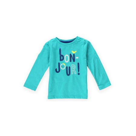 Gymboree Girls Bon Jour Embellished T-Shirt 346 18-24 mos - Infant