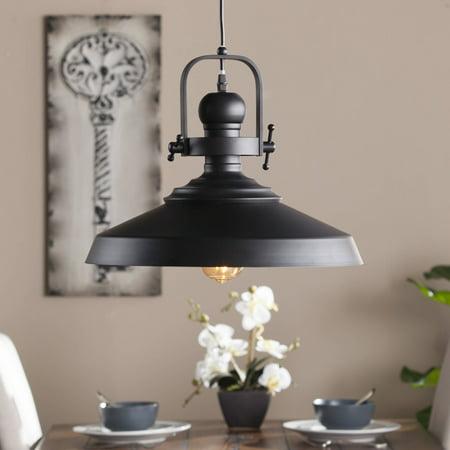 Southern Enterprises Morto Industrial Bell Pendant Lamp