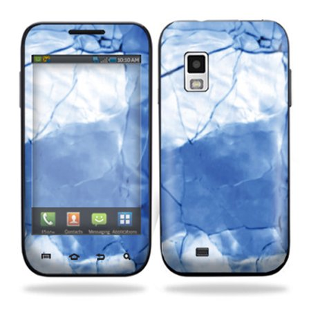 Skin Decal Wrap cover Samsung Fascinate i500 Cracked