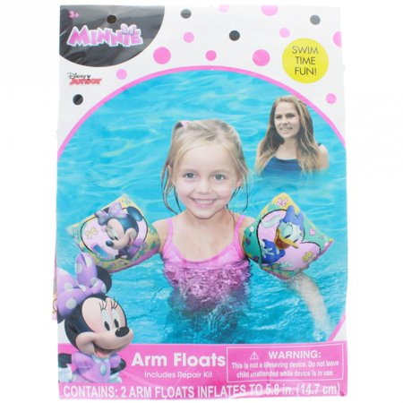 Disney Minnie Mouse Bowtique and Daisy Duck Water Arm Floats Swim Time - Time Ducky
