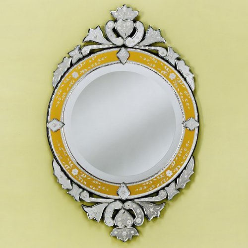 Lirio Gold Venetian Wall Mirror - 22W x 35H in.