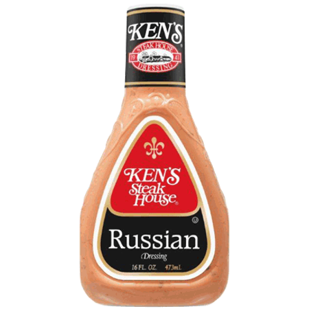 Ken's Steakhouse Dressing, Russian, 16 Fl Oz