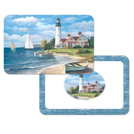 Counterart Reversible Wipe Clean Plastic 17 13 Placemat