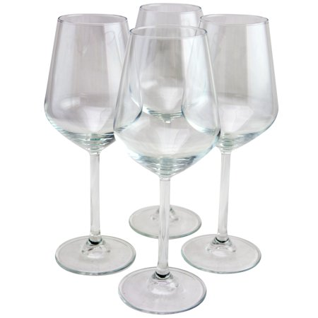 Pasabahce Allegra 4 Piece 11.75 oz White Wine Glass -