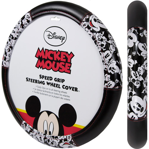 Plasticolor Disney Mickey Mouse Expressions Steering Wheel Cover