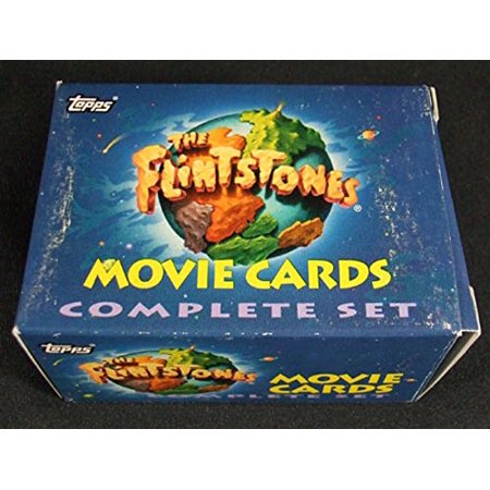 1994 Topps The Flintstones Movie Factory Card Set + Foils and Stickers (103) -