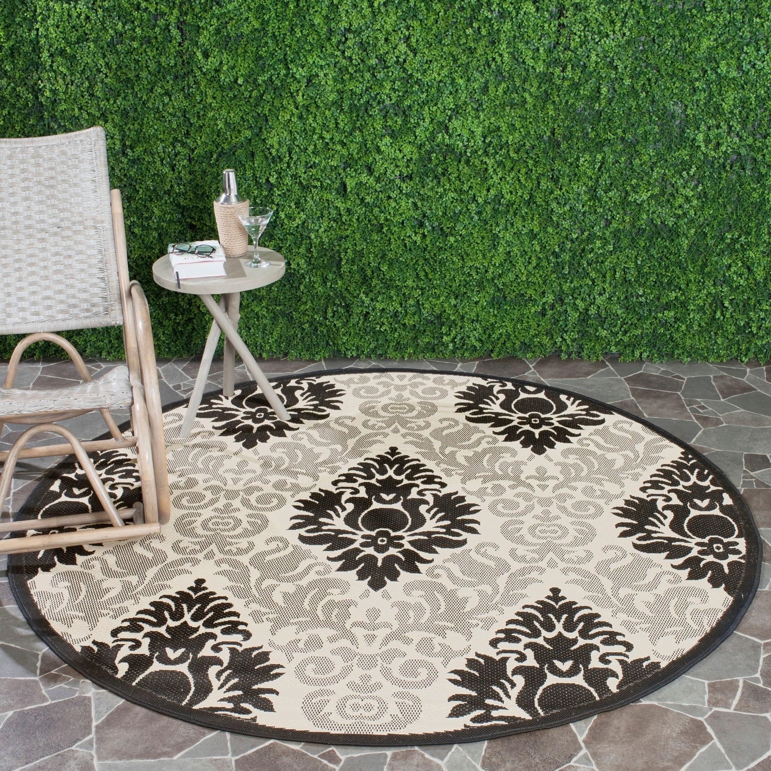 Safavieh Courtyard Jessie Damask Indoor/Outdoor Area Rug or Runner