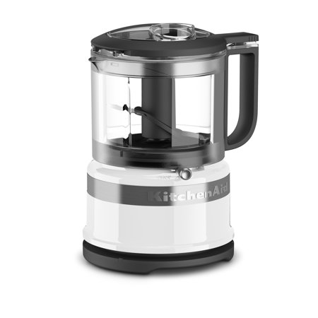 KitchenAid 3.5 Cup Mini Food Processor, White (KFC3516WH)](best deals on food processors)