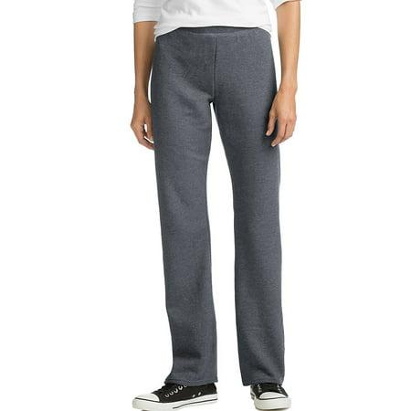 Hanes ComfortSoft™ EcoSmart® Women's Open Leg Fleece Sweatpants - O4629