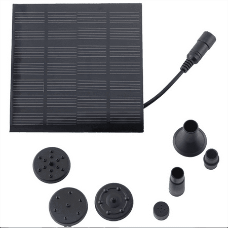 180L/H Solar Water Pump for Garden Pool Pond Fountain Aquarium - image 4 of 9