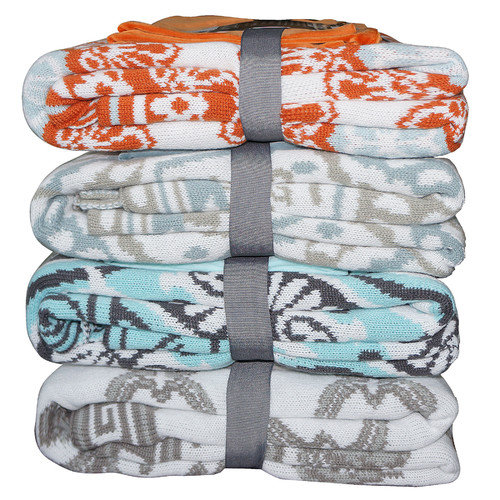 BOON Throw & Blanket Delia Knitted EZ Matching Throw Blanket
