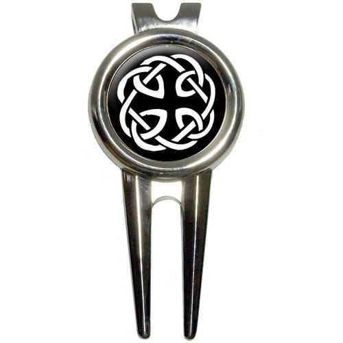 Celtic Knot Golf Divot Repair Tool and Ball Marker
