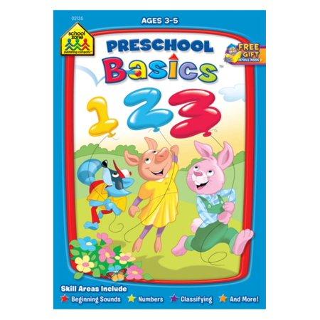 Workbook-preschool Basics - Ages 3-5 - Halloween Crafts For Preschool Age
