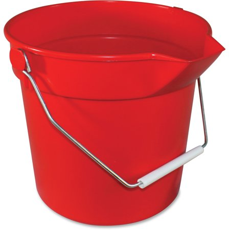 - Impact Products, IMP5510R, 10-qt Deluxe Bucket, 1 Each, Red