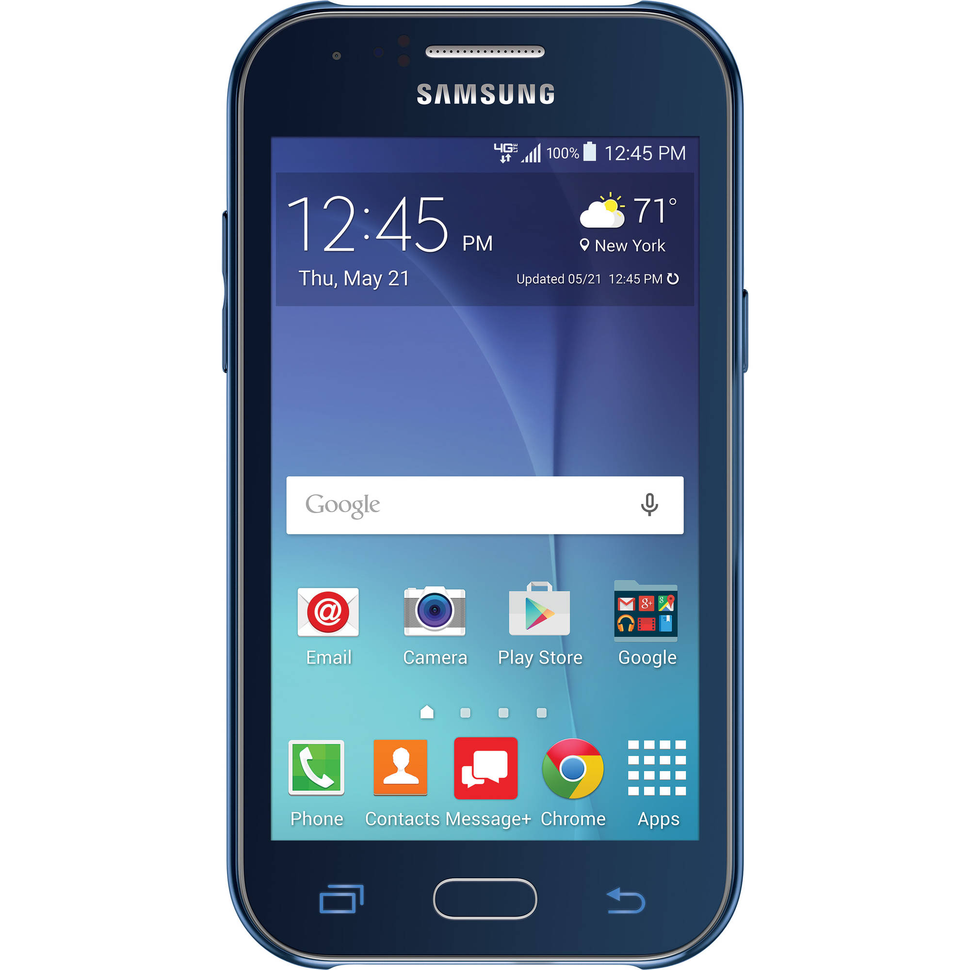 Verizon Samsung J1 8GB Prepaid Smartphone, Blue