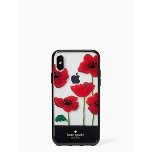 Kate Spade New York Poppy Resin iPhone X Case